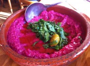 Beet Mutabbal With Roasted Beets, Tahini and Yogurt
