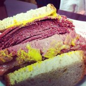 Classic Smoked Meat Sandwich