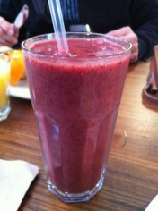 Smoothie of the Day - Mango and Mixed Berries