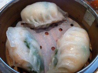 Pork Dumplings With Shrimp and Coriander