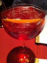 La Piscine - Champagne and Campari