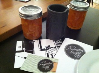 Preservation Society Marmalade, Hot Tea and Pamphlets