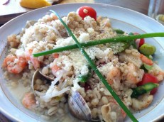 Plat du Jour #2: Barley With Clams, Shrimps and Asparagus