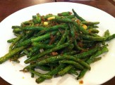 Stir Fried Green Beans with Chilis and Minced Pork