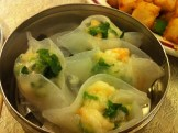 Shrimp and Snow Pea Dumpling
