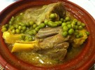Tagine with Peas and Artichoke Hearts