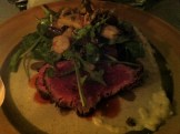 Beef Tataki With Wild Mushrooms