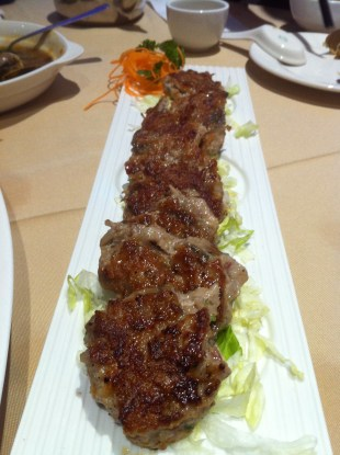 Fried Lotus Root Wrapped in Beef