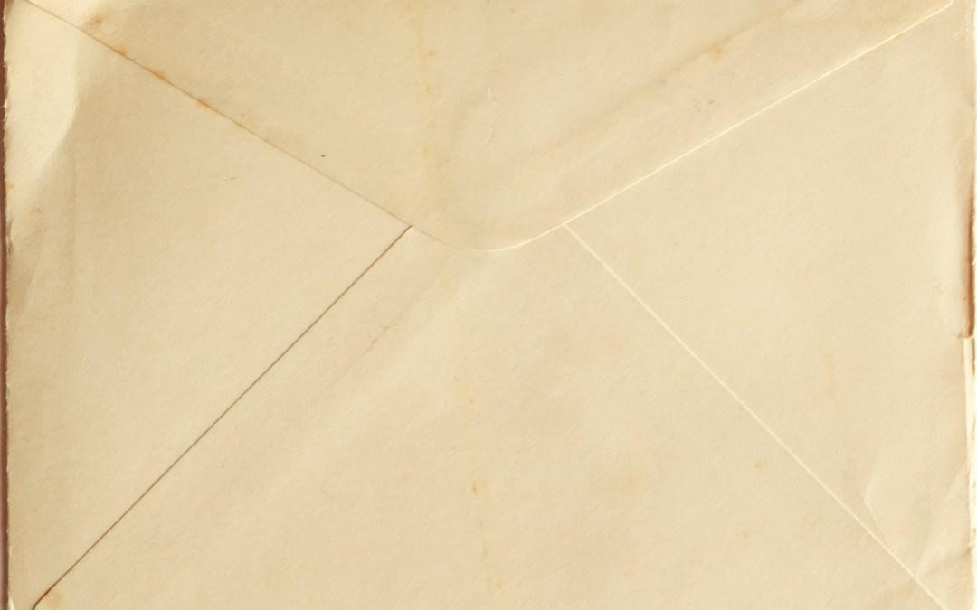 La primera carta de Ana