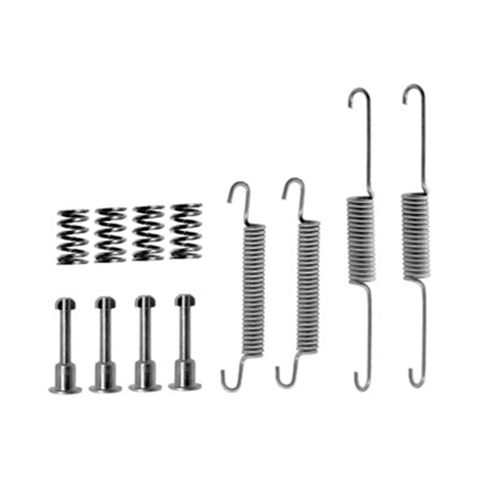 REAR HANDBRAKE SHOE FITTING KIT SPRINGS FITS: JAGUAR XJ40