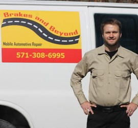 Brakes and Beyond: Mobile Automotive Repair serving all of Northern VA.