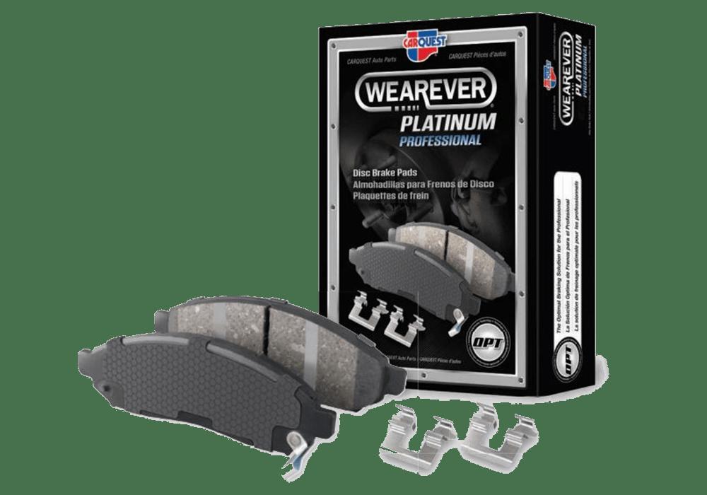 Wearever Platinum Pro Disc Brake Pads