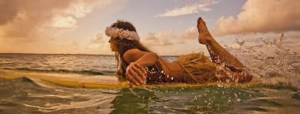 Hulu surfer, Kauai