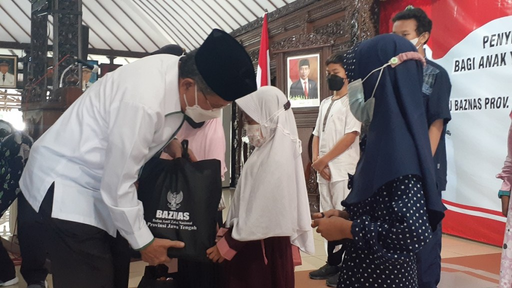 Alhamdulillah, Baznas Jawa Tengah Bantu 112 Anak di Purbalingga