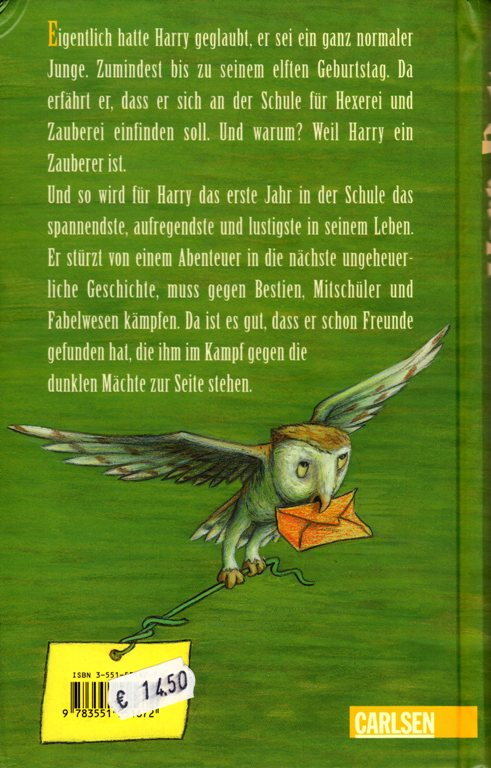 Harry Potter auf Deutsch  Bramans Wanderings