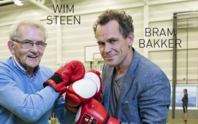 Bram Bakker en gymleraar Wim Steen in Flashback