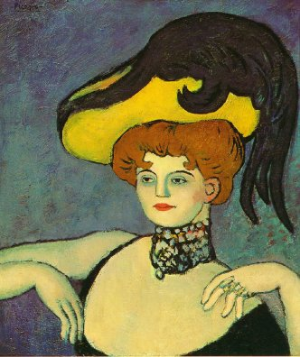 courtesan-with-necklace-of-gems-1901 Picasso
