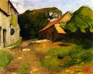 farmyard-at-la-percaillerie-normandy-1901 Albert Marquet