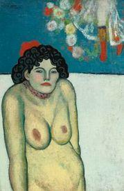 Pablo_Picasso_-_La_Gommeuse 1901