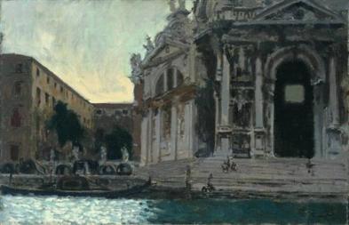 venice-la-salute. 1901 Sickert