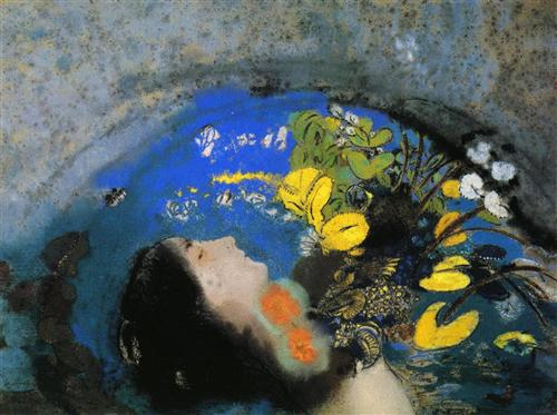 Odilon Redon ophelia 1903