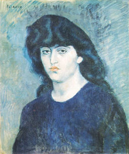 Picasso-suzanne_bloch 1904