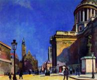 Raoul Duffy the-pantheon-and-st-etienne-du-mont 1904