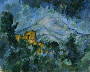 Paul_Cezanne_-_Mont_Sainte-Victoire_and_Château_Noir 1906