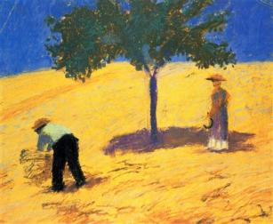 tree-in-the-cornfield 1907 Macke