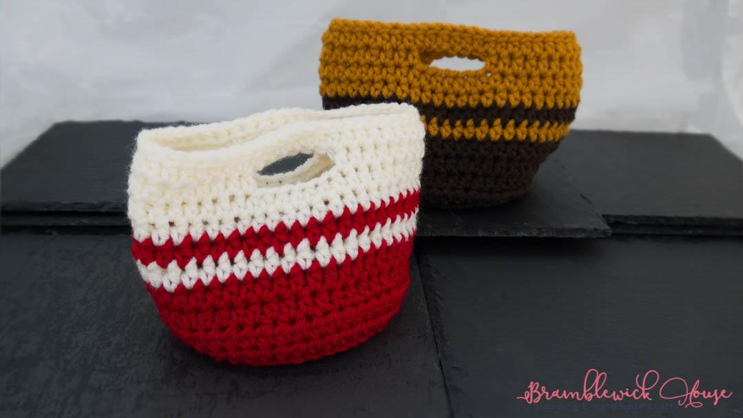 Crochet Chunky Basket