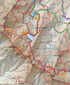 Cartina della zona