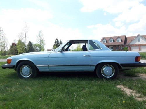 small resolution of 1976 mercedes benz 450 sl 003