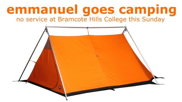 emmanuel goes camping