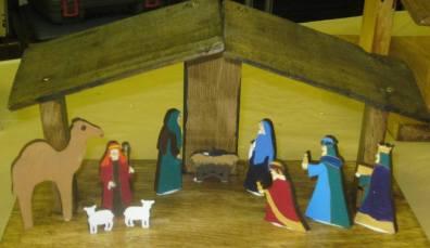 Nativity Craftwork