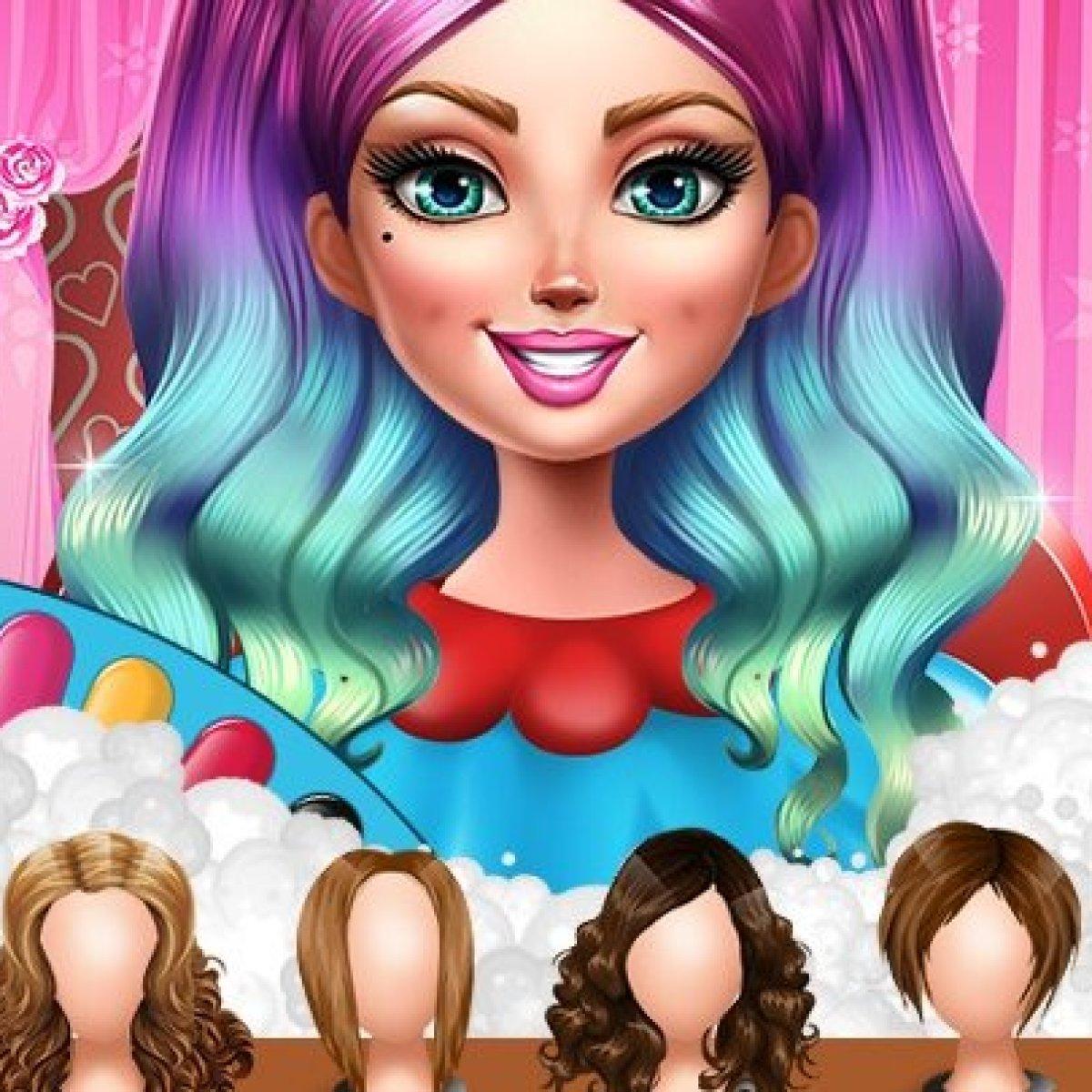 صور لل العاب بنات ستايل تلبيس ومكياج وقص شعر وتنظيف البشرة ومناكير