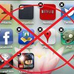 كيف احذف البرامج من الايفون