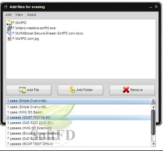 Soft4Boost Secure Eraser3