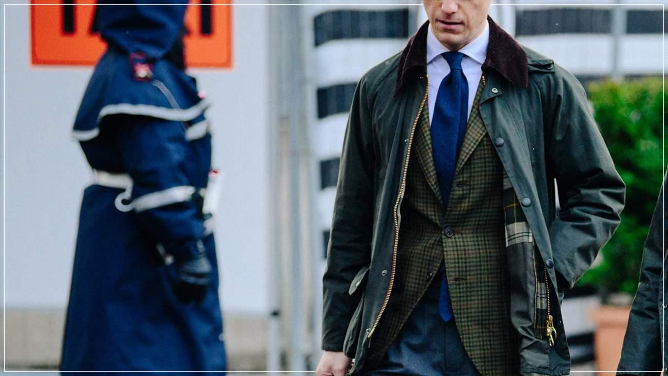 твидовый пиджак для мужчин