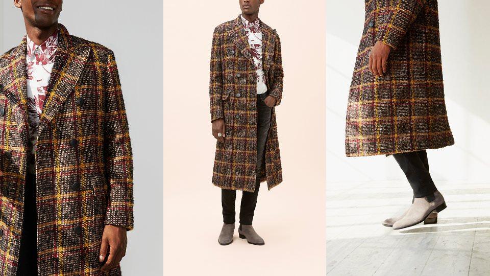 Виды мужских пальто