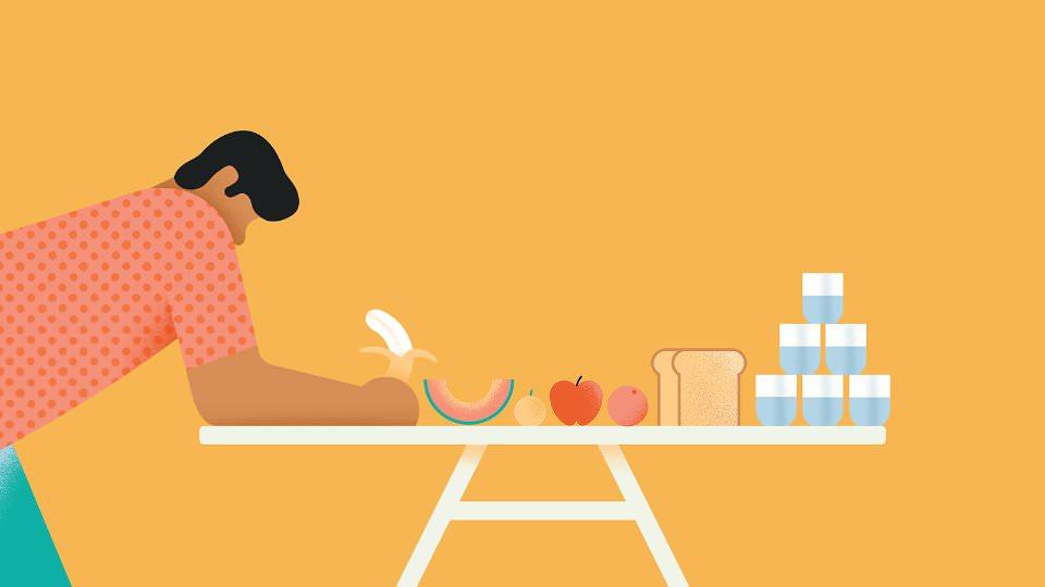 Быстрая диета для мужчин