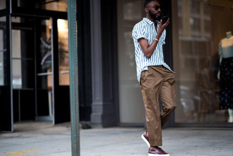 широкие мужские брюки