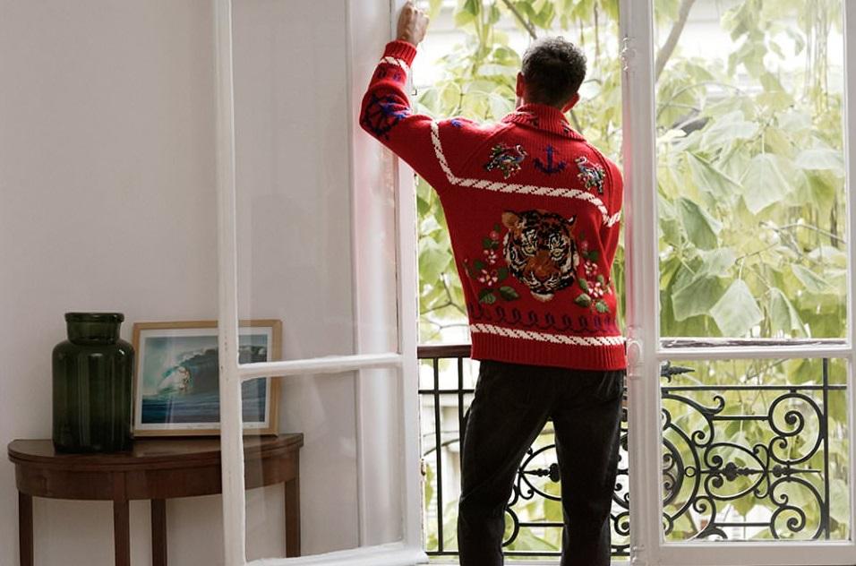 мужской свитер шерсть