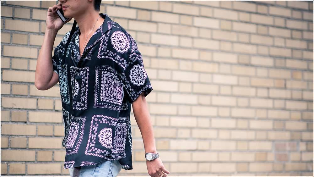 гавайские рубашки мужские