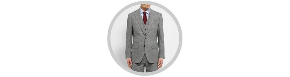 виды мужского костюма