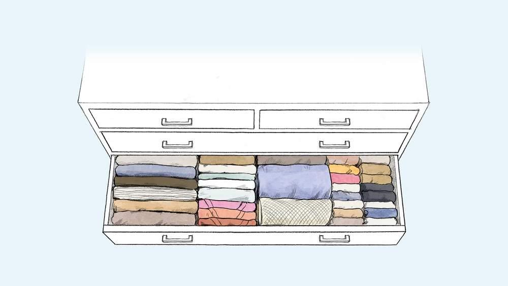 порядок в гардеробе интересные идеи