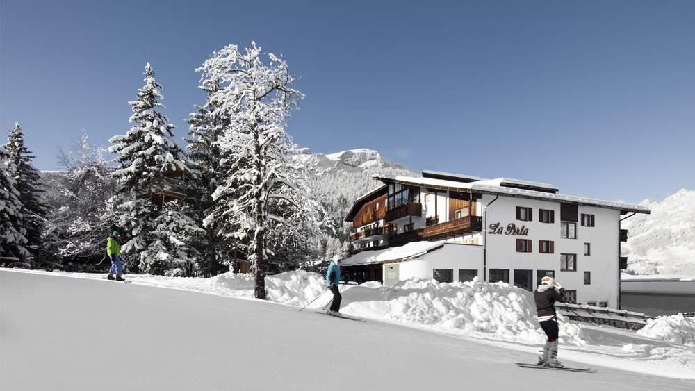 Итальянский лыжный курорт