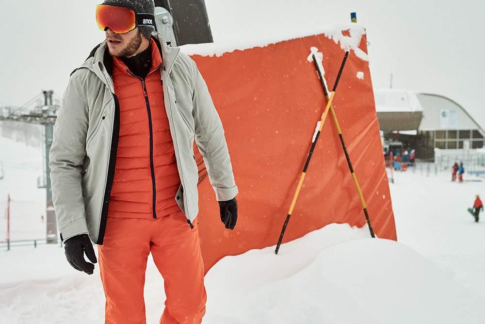 Лыжная одежда от Patagonia и Aztech Mountain