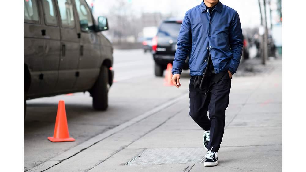 Мужская тренерская куртка