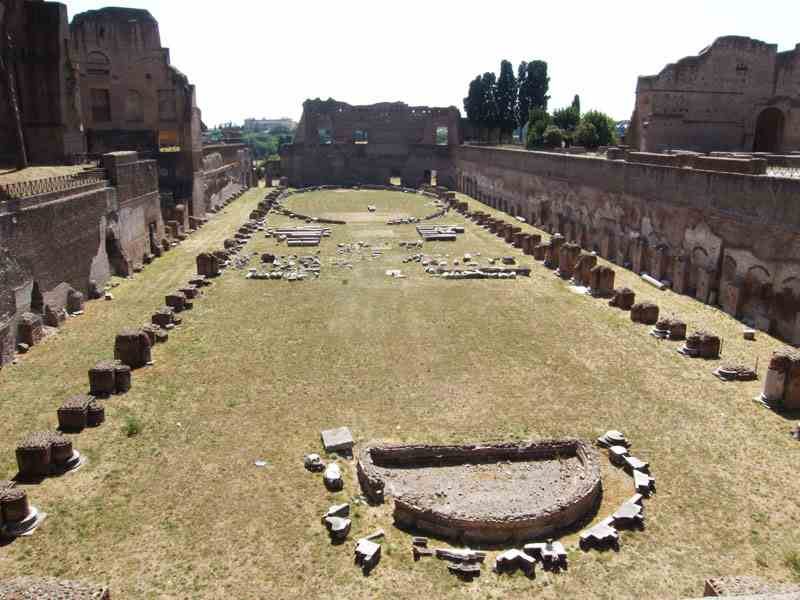 Stadium of Domition in Palatine Hill
