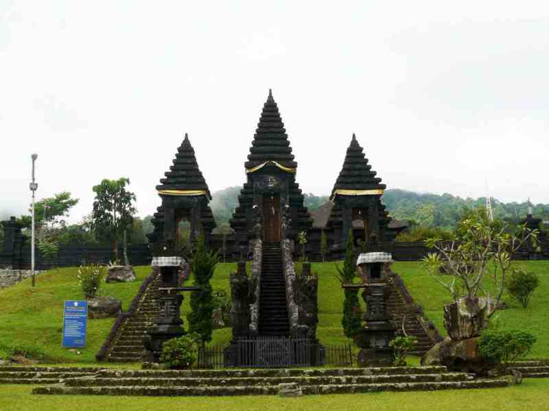 Hindu temple in West Java